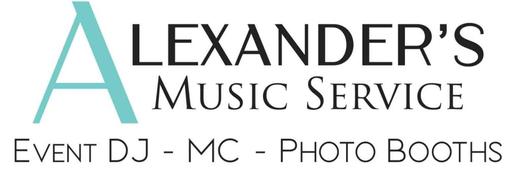 logo for Alexander's Music Service a Wedding DJ in Victoria BC